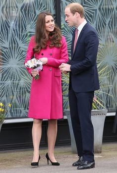 Pin for Later: Kate Middleton Makes Her Last Pregnant Appearance Before the Baby's Arrival