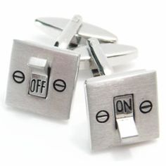 Switch On cufflinks