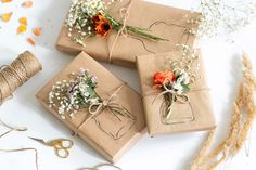 Spring, Gift Wrapping, Packaging, Christmas, Gifts, Instagram, The Originals, Flowers, Xmas Cards