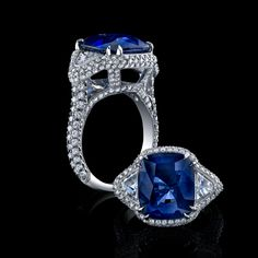 Robert Procop Exceptional Jewels a 9ct Burma Sapphire ring