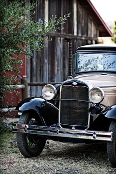 1931 Ford Model A - old barn