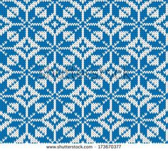 seamless vector knitted background