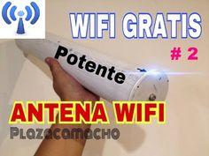 COMO TENER INTERNET GRATIS, antena wifi para 20kms. Como instalar. - YouTube