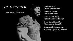 My man CT Fletcher. So motivational Weight Lifting Motivation, Training Motivation, Fitness Motivation, Cardio Fitness, Quotes Motivation, Fitness Diet, Health Fitness, Gym Memes, Gym Humor