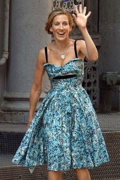 Cute dress for Summer from Carrie Bradshaw : Sex And The City : MartaBarcelonaStyle's Blog