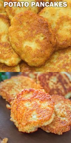 Potato Pancakes So simple, yet unbelievably tasty, these Classic Potato Pancakes are not to be misse Brunch Recipes, Baby Food Recipes, Indian Food Recipes, Keto Recipes, Cooking Recipes, Recipes Dinner, Free Recipes, Chinese Recipes, Dinner Ideas