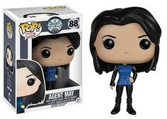 From the hit TV show Marvel's Agents of S.H.I.E.L.D., Agent May has never looks so adorable! The 3 3/4-inches tall Agents of SHIELD Agent Melinda May Pop! Vinyl Figure Bobble Head features May in classic pose, so no enemy will even consider messing with this agent! If you're a fan of Ming-Na Wen's Agent May, you'll love the fun look of this stylized agent who works as Agent Coulson's right-hand gal! #funko #popvinyl  #actionfigure #collectible #toy #MelindaMay