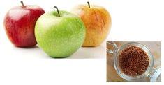 Combinação de chia e maçã faz maravilhas
