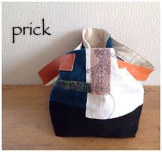DIY bag, minne(ミンネ)| ステッチコラージュトート