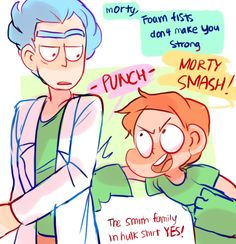 ttoba's Art Blog — Rick and Morty s2e4 doodles part1!  The episode...