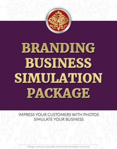 NEW!!! Branding Simulation Package. Pick 3 images that will presenting your business in the innovative, original and impressive way.