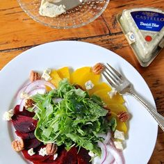 Danish Blue Beet Salad