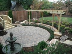Round Patios Design Ideas, Pictures, Remodel, and Decor - page 8