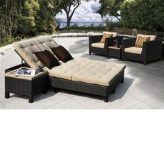 Euro Lounger Patio Set By Sirio™