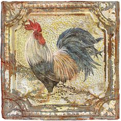 I uploaded new artwork to fineartamerica.com! - 'Rooster On Tin-a' - http://fineartamerica.com/featured/rooster-on-tin-a-jean-plout.html via @fineartamerica