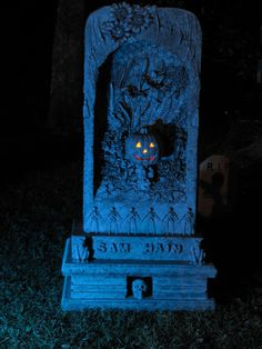 Halloween Tombstone night
