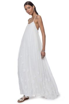Star Maxi Dress By Mara Hoffman Ready To Wear Spring 2016 Beach Chic Boho