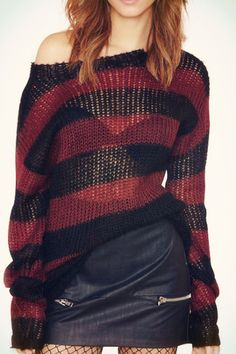 tbdresslove:  long sleeve hollow knitwear==> here  Selected Items On Sale  back to school sale