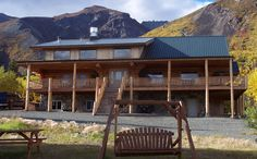 Majestic Valley Wilderness Lodge - Sutton, Alaska...i can't believe I'm going to be living there this summer! <3