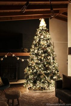 how to decorate a christmas tree step by step day 8 - Holiday Time Christmas Tree
