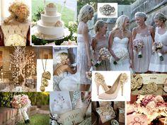 Vintage Blush wedding ~ inspiration for my wedding! Chic Wedding, Wedding Events, Wedding Styles, Our Wedding, Dream Wedding, Wedding Blush, Rustic Wedding, Wedding Stuff, Summer Wedding Colors