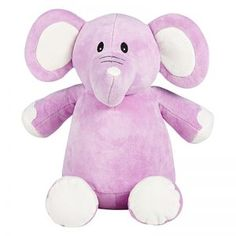 Personalised Lilac Lavender Elephant Cubbie Animal Stuffed Toy We will embroider this gorgeous soft plush teddy on the tummy with a unique message of Purple Elephant, Baby Elephant, Elephant Stuffed Animal, Stuffed Animals, Stuffed Toy, Personalised Teddy Bears, Sibling Gifts, Embroidery Services, Childrens Gifts