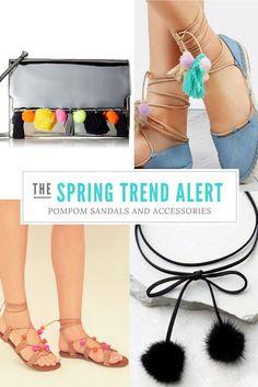 spring trend: pom po