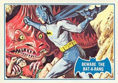 Batman (Blue) #38 (Topps, 1966)