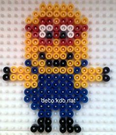 Minion hama beads by DECO.KDO.NAT