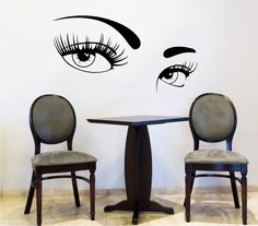 Dear Buyers, Welcome to our shop TrendyWallDecals!    Makeup Wall Decal Vinyl Sticker Decals Art Home Decor Design Mural Make Up Girl Woman Fashion Cosmetic Hairdressing Hair Beauty Salon ★ SIZE AND COLOR ★    Approximate Item Sizes:    12 Tall x 23 Wide  20 Tall x 38 Wide  28 Tall x 53 Wide  38 Tall x 72 Wide      If this size is inappropriate for you, you can contact us and provide your dimensions and we can create for you decal of any size.    ✓✓✓Please note that any changes of the decal…