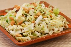 asian cabbage salad with cumin - fresh and yummy!