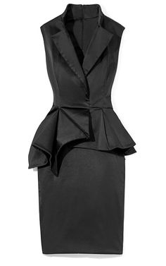 Duchess Satin Sleeveless Cocktail Dress...can't you see Kate wearing this?