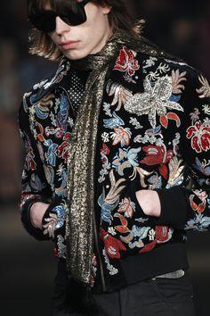 """monsieurcouture: """" Saint Laurent F/W 2016 Menswear Los Angeles Fashion Show """""""