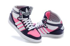 2015 adidas shoes girls high-tops | 2015 New Adidas for women high-top shoes purple white pink