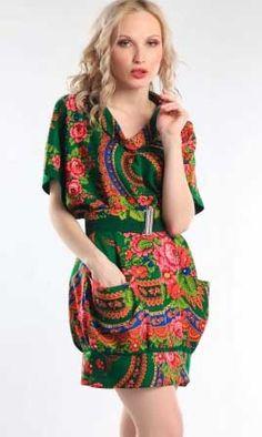 Выкройка шерстяного платья из павлопасадских тканей. Это платье выполнено из тонкой шерсти, созданной на павлопосадской мануфактуре. Выкройка платья...