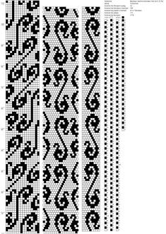 16 around tubular bead crochet rope pattern