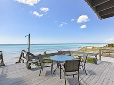 Blessings on #30A in South Walton!  Enjoy this beachfront home with a large private pool.