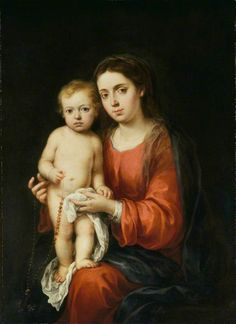 Bartolomé Esteban Murillo (attributed to) - Madonna and Child with a Rosary, ca. 1673 - The Wallace Collection