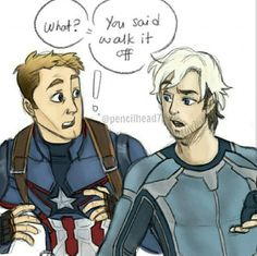 😃😃😂💞  Please! Make it happen! 🙋💞 #captainamerica #pietromaximoff #avengers