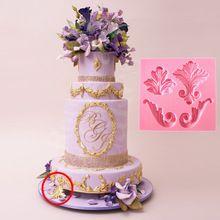 Venda quente linda flor forma Chocolate Candy Jello 3D fondant silicone bolo Mould decoração / pastelaria tools 2016(China (Mainland))