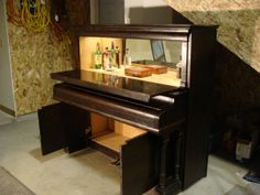 Repurposing an old piano