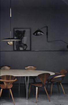 Home House Interior Decorating… Home Interior, Interior Architecture, Interior Decorating, Interior Paint, Scandinavian Interior, Interior Styling, Dining Room Inspiration, Interior Inspiration, Furniture Inspiration