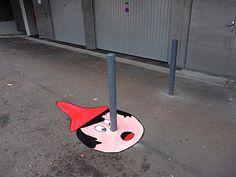Chic Maker likes Pinocchio Street Art
