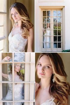 Beautiful wedding hair. Southern Charm by Annabella Charles