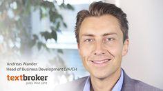 """Content-Marketing-Experte Andreas Wander: """"SEO und Content-Marketing verschmelzen immer mehr."""""""