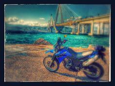 XT660 '04 near the Rio Bridge