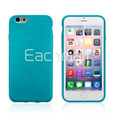 Vein Style Soft Slim TPU Gel Rubber Skin Case Cover for Apple 4.7 Inch iPhone 6 Free Shipping