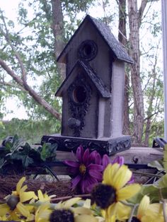 Birdhouse victorian vintage by SummersBreeze on Etsy, $28.99