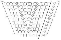 """Oasis / DROPS 169-35 - Chaqueta de ganchillo DROPS tejida en un círculo con patrón de calados y patrón de abanicos en """"Baby Merino"""". Talla: S - XXXL. - Free pattern by DROPS Design"""