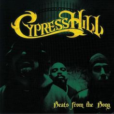 Vinyl Cypress Hill - Beats from the Bong - Instrumentals, Kankana, Cypress Hill, Bongs, Hip Hop, Movie Posters, Movies, Films, Film Poster, Hiphop, Cinema